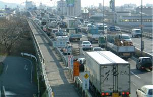 渋滞を減らす