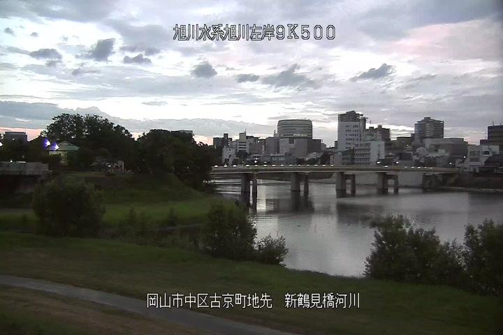 新鶴見橋下流河川画像