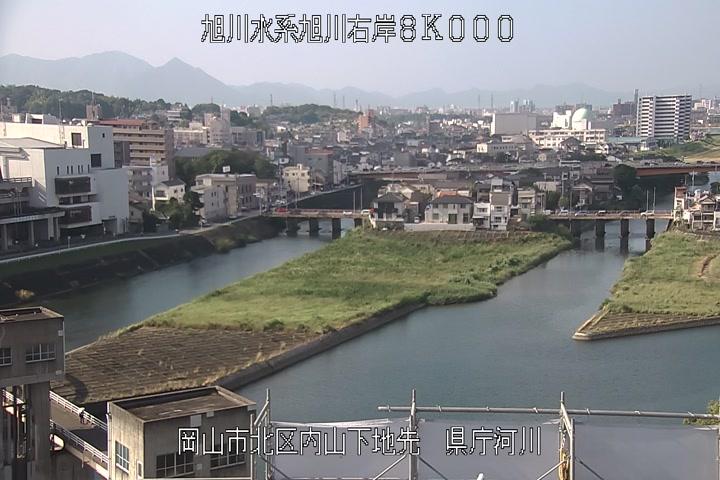 県庁下流河川画像