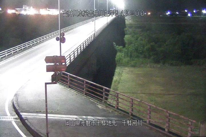 千躰空間監視下流河川画像