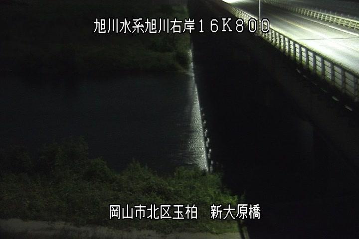 新大原橋下流河川画像